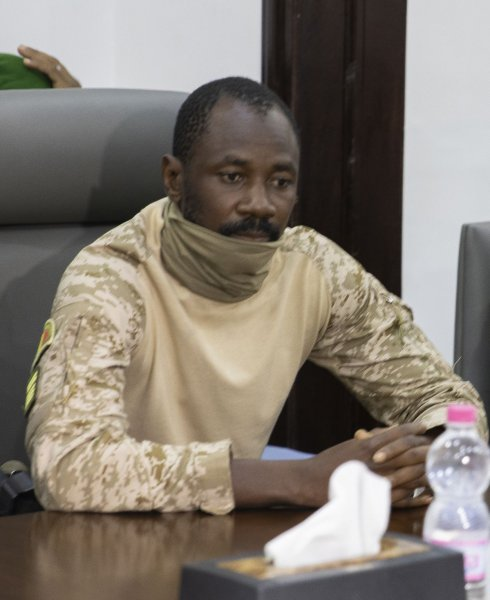 Col. Assimi Goita led a coup this week accusing the interim president and prime minister of reshuffling the country's Cabinet without consulting him. File Photo by H. Diakite/EPA-EFE
