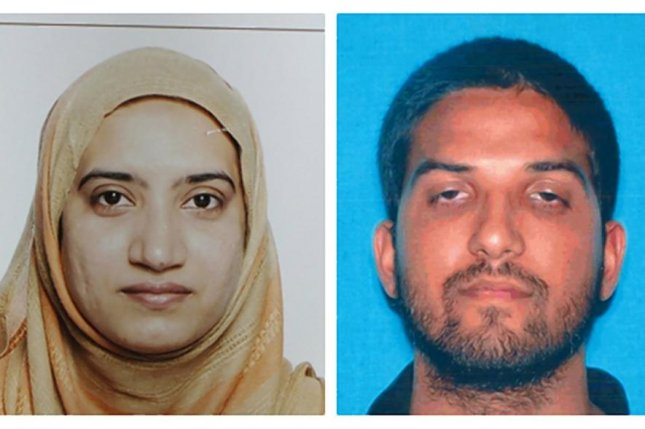 The FBI has discovered that Tashfeen Malik (L), who carried out the San Bernardino massacre along with husband Syed Rizwan Farook (R), sent at least two private messages on Facebook where she pledged support for Islamic jihad and stated she would join the fight in the future. Photo courtesy San Bernardino Police Department