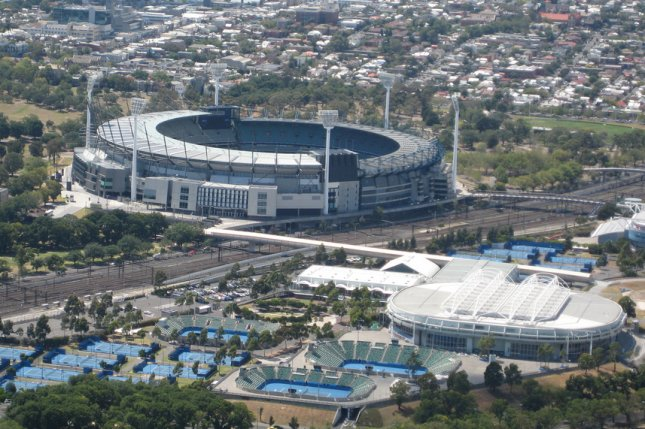 Many tennis players and staff members associated with the 2021 Australian Open were forced to quarantine Wednesday after potential exposure to a hotel worker who tested positive for COVID-19. Photo by Jeffery from Christchurch, New Zealand/WikiMedia Commons