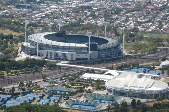 Players have been unable to train for the 2021 Australian Open due to positive COVID-19 tests and quarantines in Melbourne. Photo by Jeffery from Christchurch, New Zealand/WikiMedia Commons