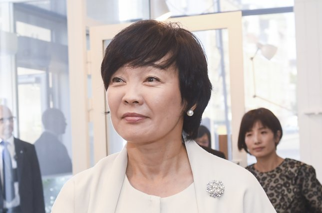 Japanese first lady Akie Abe is being asked to appear before parliament to address questions from the opposition regarding the Moritomo Gakuen scandal. File Photo by EPA/KIMMO BRANDT