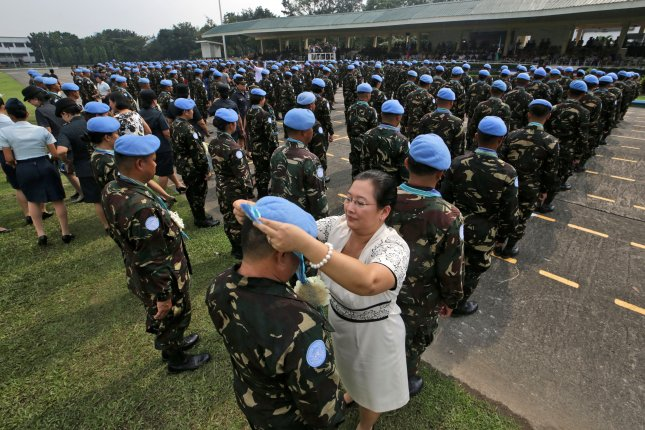 The United Nations peacekeeping mission will officially end Oct. 15 in Haiti and will be replaced with a new integrated office. Photo by Ritchie B. Tongo/EPA-EFE