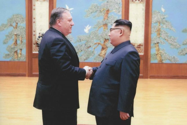 North Korea's foreign ministry criticized U.S. Secretary of State Mike Pompeo (L) on Monday. File Photo courtesy of the White House