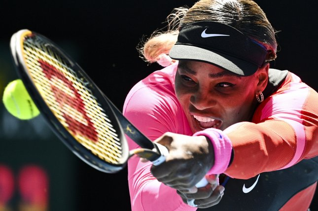 Serena Williams (pictured) beat Anastasia Potapova in the third round of the 2021 Australian Open on Friday in Melbourne. Photo by Dean Lewins/EPA-EFE