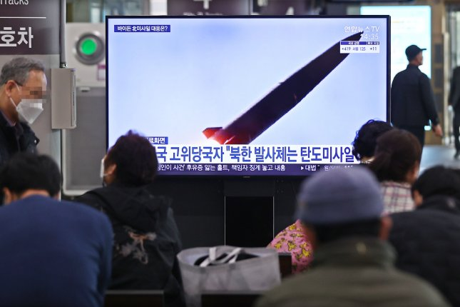 South Korea is most vulnerable to a potential North Korean short-range missile attack, analysts say, after Pyongyang launched missiles on Thursday. Photo by Yonhap/EPA-EFE