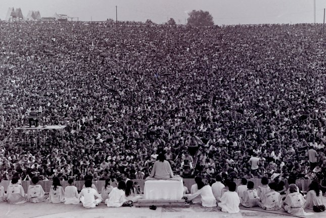 On August 15, 1969, Woodstock opened on Max Yasgur's farm near Bethel, N.Y., drawing an estimated 400,000 people for three days of music. File Photo by Mark Goff/Wikipedia