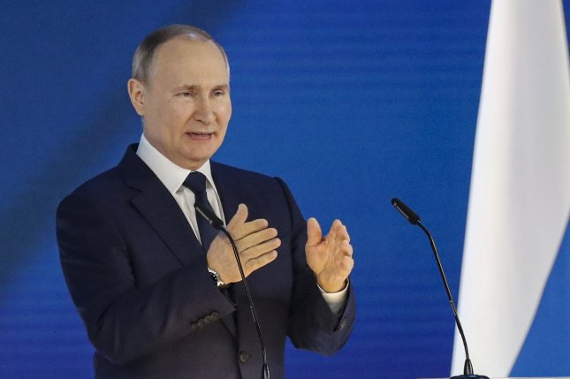 Russian President Vladimir Putin offered President Joe Biden a reciprocal exchange of cybercriminals. File Photo by Maxim Shipenkov/EPA-EFE