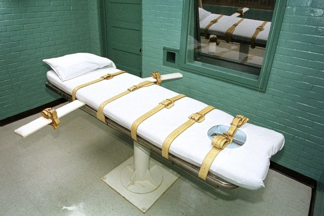 Eighteen people are scheduled to be executed through the end of the year in the United States. COVID-19 could put off several of those dates. File Photo by Paul Buck/EPA