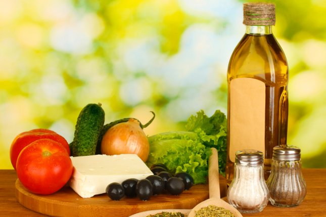 The Mediterranean diet and other healthy eating approaches may reduce risk for heart disease, a new study has found. File Photo by Africa Studio/Shutterstock