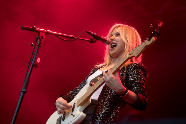 Singer-songwriter Liz Phair said her upcoming live stream show, Hey Lou Hey Liz, was intentionally designed to be as different as possible from her live concerts to take full advantage of the medium. File Photo by Marta Perez/EPA-EFE