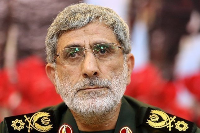 Esmail Ghaani became commander in chief of Iran's Quds Force, the extra-territorial wing of the Islamic Revolutionary Guards Corps, after Gen. Qassem Soleimani was killed in a U.S. airstrike in Iraq in January 2020. Photo courtesy of Tasnim News Agency