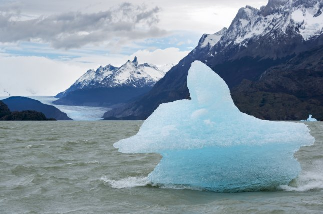 New research suggests Antarctic icebergs have a cooling effect on climate change in the Southern Hemisphere. File Photo by longtaildog/Shutterstock
