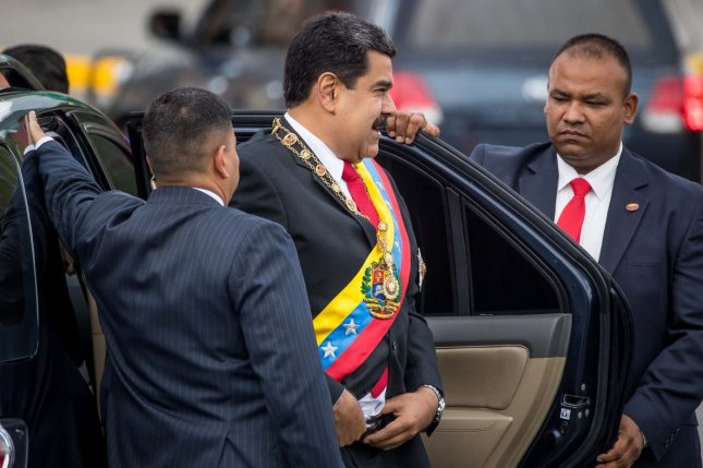 There are few immediate fixes for the chronic production challenges for Venezuela, one of the founding members of OPEC. President Nicolas Maduro shown at center. Photo by Miguel Guiterrez/EPA-EFE