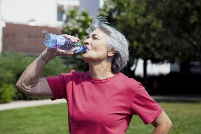 A new study suggests that eating healthy, getting exercise and not smoking during menopause could help women prevent atherosclerosis. Photo by Image Point Fr/Shutterstock