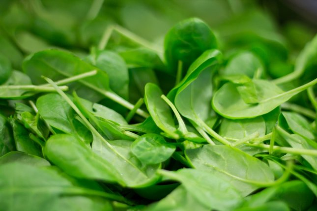 Dole Fresh Vegetables Inc. recalled baby spinach packages over Salmonella concerns.File Photo by ThiloBecker/Pixabay