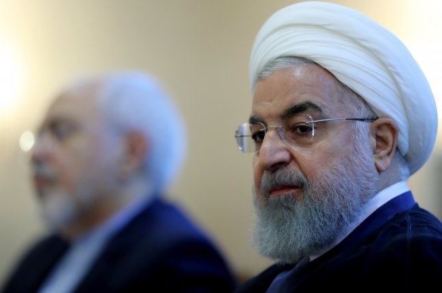 An adviser to Iranian President Hassan Rouhani said Tuesday talks with the United States will not happen without a return to the nuclear deal. File Photo by Presidential Office of Iran/EPA-EFE
