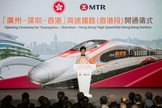 Hong Kong-Guangzhou bullet train service launched