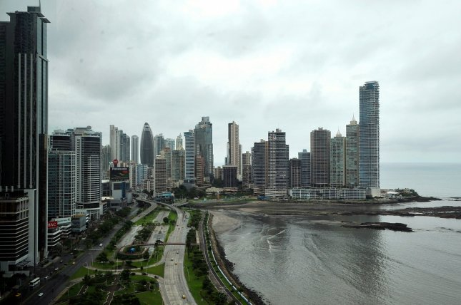 General view of Panama City and the Pacific Ocean waterfront. Monday, an investigative journalists group launched a searchable online Panama Papers database that included details on hundreds of thousands of offshore accounts opened and maintained by more than 360,000 persons and entities between 1977 and 2015. File Photo by U.S. Department of State/UPI