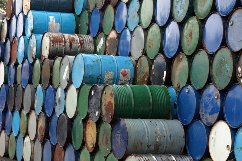 Crude oil prices fell sharply Thursday morning. Photo by Shutterstock/sakhorn/UPI