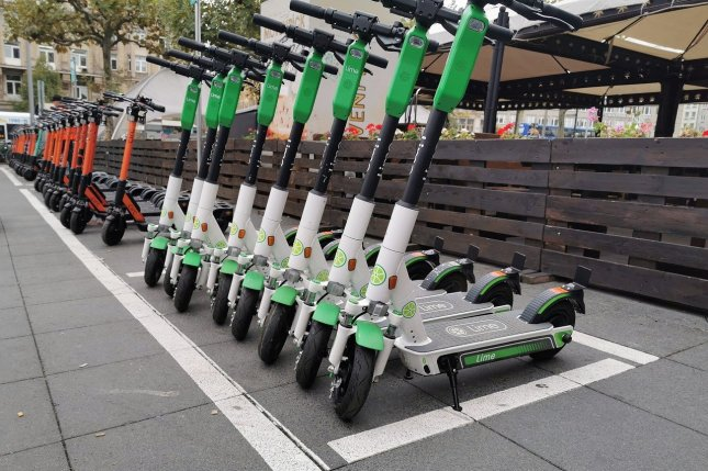 Police in Oslo, Norway, said they seized an electric scooter that had been modified to travel at more than twice the legal limit for the vehicles.Photo by Rabenspiegel/Pixabay