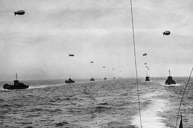 On June 6, 1944, hundreds of thousands of Allied troops began crossing the English Channel in the D-Day invasion of Nazi-occupied Europe. File Photo courtesy of the U.S. Coast Guard