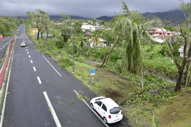 Hurricane Marie passed near the French territory of Guadeloupe in the Leeward Islands Monday night and Tuesday, causing damage and flooding, and killing at least one person. Photo courtesy the government of Guadeloupe