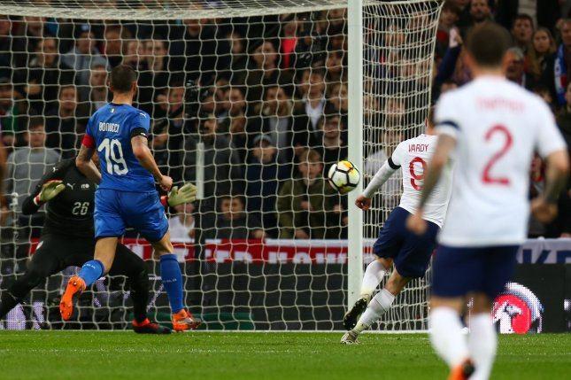 Jamie Vardy scores sneaky goal in England draw vs. Italy