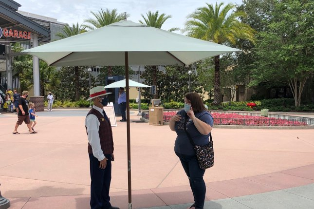 Florida reported 15,299 new COVID-19 cases on Sunday, a day after Walt Disney World in Orlando reopened some of its parks as the state has surged to third in the country in total cases. FilePhoto by Paul Brinkmann/UPI