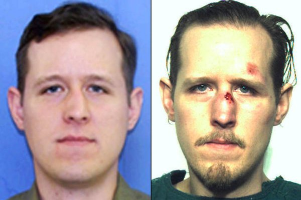 Eric Matthew Frein's lawyers said his trial lawyers violated his right to remain silent when they allowed the jury to view a video of him speaking to police after his arrest. File Photo courtesy of the FBI