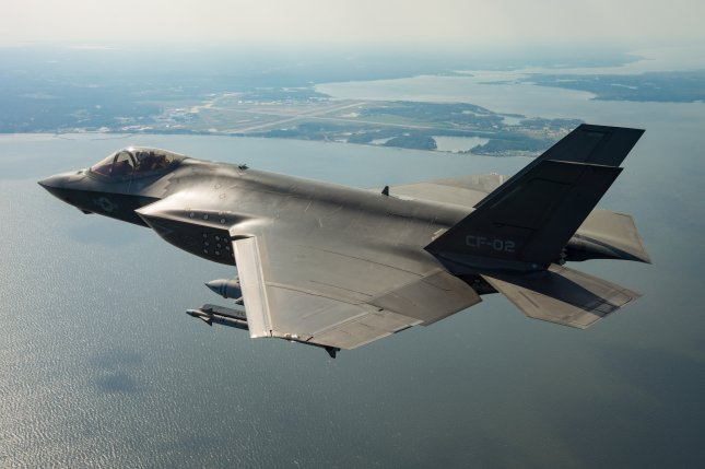 A new delay in the Lockheed Martin F-35 testing program could delay full-rate production of the plane to January 2021, a Pentagon official said. Photo courtesy of Lockheed Martin