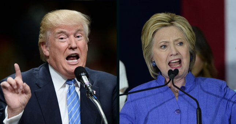 Donald Trump and Hillary Clinton. UPI File Photos