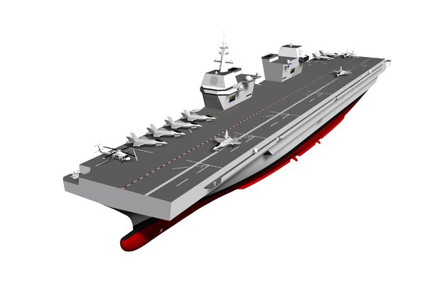 South Korea said it plans to deploy a 30,000-ton light-aircraft carrier by 2033.  Image courtesy of Republic of Korea Ministry of National Defense