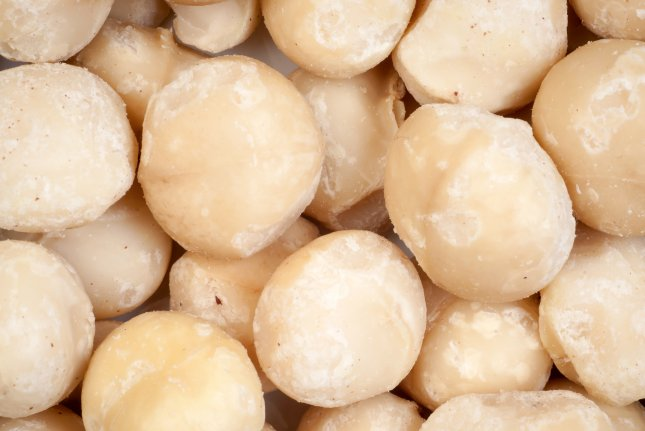 Whole Foods announced a voluntary recall of 11-ounce plastic packages of raw macadamia nuts due to salmonella contamination. File photo by wiktord/Shutterstock