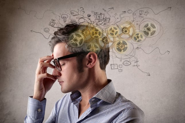 Researchers have designed an artificial intelligence system that can accurately identify potential mental health disorders in people, according to a study using data from the U.K. Biobank. File Photo by Ollyy/Shutterstock