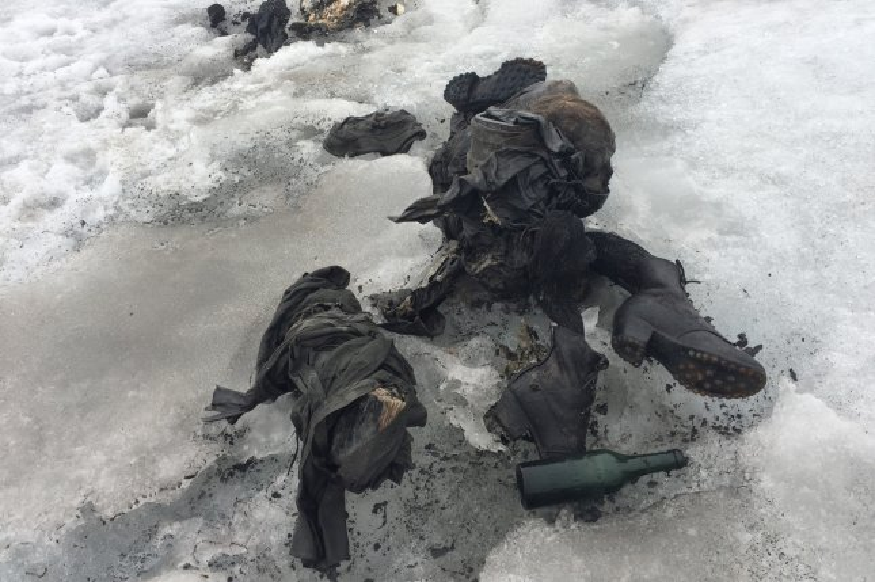 wwii era bodies found in glacier at swiss resort upi com