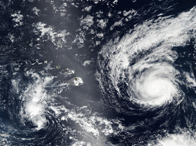 Image of Hurricane Madeline captured on August 29 by NASA-NOAA's Suomi NPP satellite. Madeline, a Category 3 storm, is forecast to come dangerously close to Hawaii's Big Island on Wednesday, according to a Central Pacific Hurricane Center advisory. Photo courtesy of NASA Rapid Response