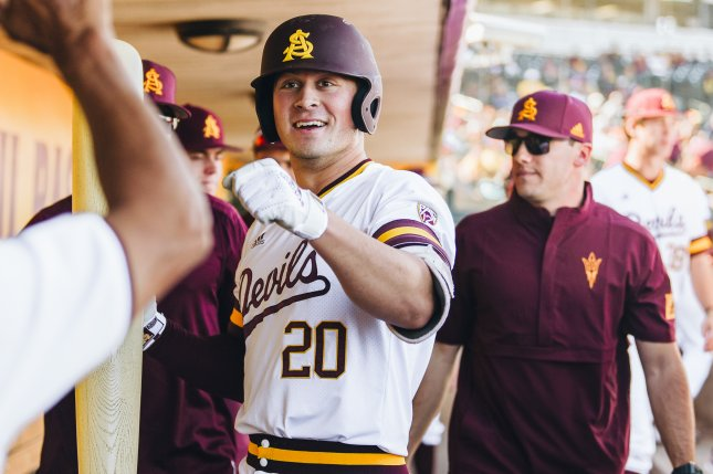 Top MLB draft pick Spencer Torkelson will miss several games at the start of the Detroit Tigers' spring training schedule. Photo by Arizona State University Athletics