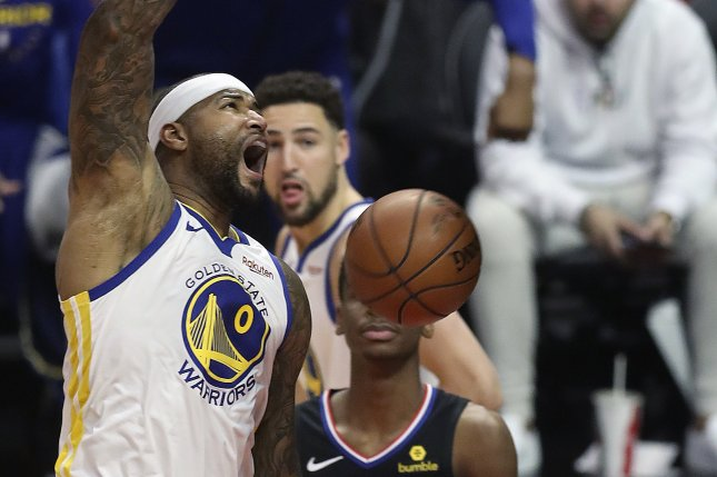 new style 86b69 8bb42 Golden State Warriors' DeMarcus Cousins: Fans have called me ...