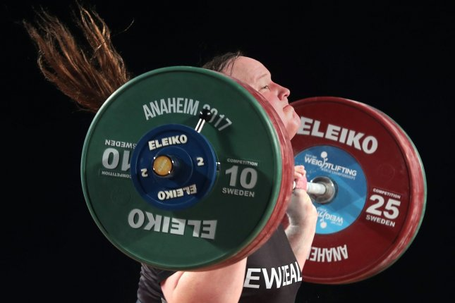 Transgender athlete Laurel Hubbard will make history when she competes on the New Zealand weightlifting team at the Olympics this summer in Tokyo. Photo by Mike Nelson/EPA-EFE