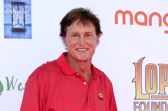Bruce Jenner is featured as a woman in a doctored photo that covers the latest issue of InTouch Weekly. Photo by Helga Esteb / Shutterstock.com
