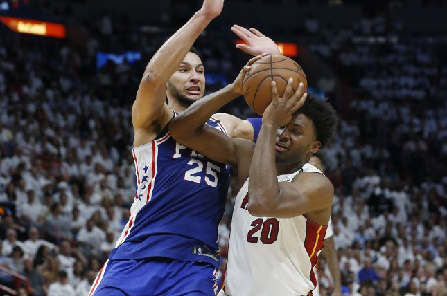 Former Jayhawk Joel Embiid has monster playoff debut