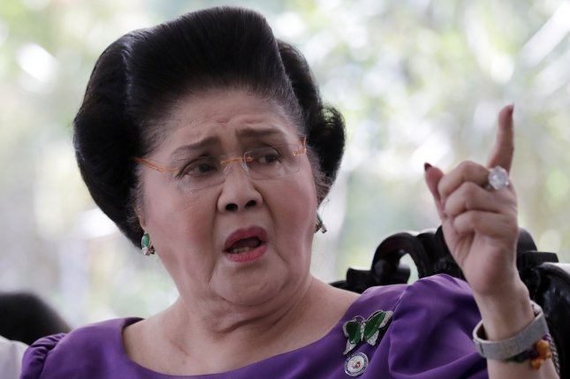 Imelda Marcos was convicted on seven charges of graft dating back to time as first lady of the Philippines. Photo by Francis R. Malasig/EPA/EFE