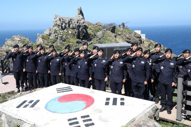 South Korea and Japan are clashing over disputed islets located between the two countries. File Photo by Yonhap