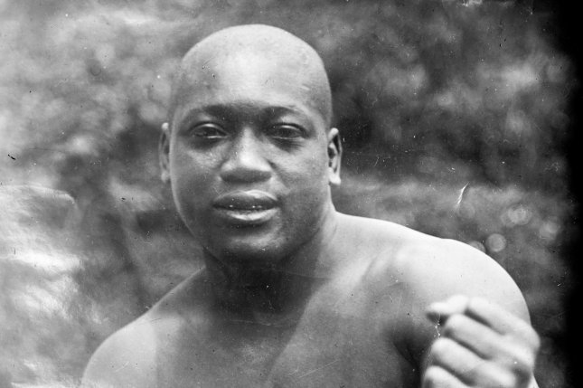 After being prompted by actor Sylvester Stallone, President Donald Trump on Saturday said he is considering granting the late champion boxer Jack Johnson a full pardon. Photo by Library of Congress/UPI