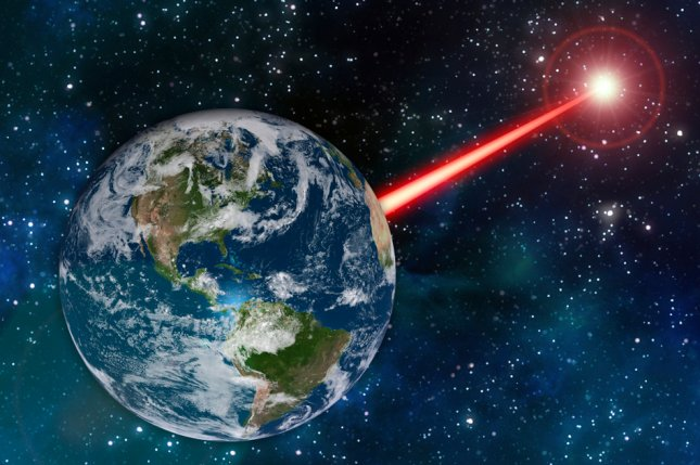An MIT study proposes that laser technology on Earth could emit a beacon strong enough to attract attention from as far as 20,000 light years away. Photo by MIT