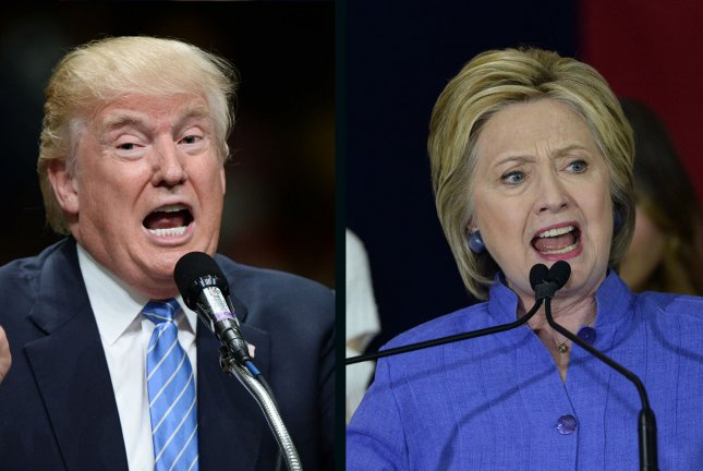 Donald Trump and Hillary Clinton have vastly different approaches to combatting terrorism at home and abroad. UPI file