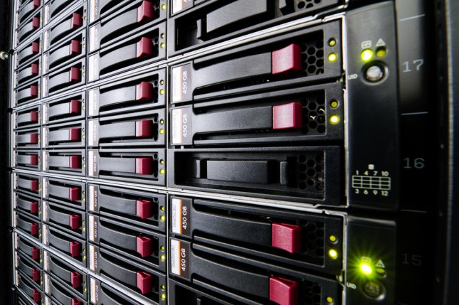 The world's data centers -- the storehouses for enormous quantities of information -- consume about 3 percent of the global electricity supply and produce 2 percent of global greenhouse gas emissions -- roughly the same as global air travel. File Photo by MilousSK/Shutterstock