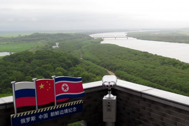 China, Russia and North Korea are cooperating on a freight rail line, according to a Chinese state-owned enterprise in Jilin Province this week. File Photo by Yonhap