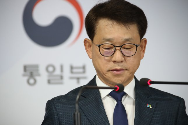 Yoh Sang-key, spokesman of South Korea?s Unification Ministry, said Wednesday Seoul is to charge defector groups with violation of local laws. File Photo by Yonhap/EPA-EFE