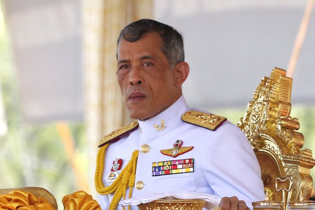 A court in Thailand said Tuesday a woman who uploaded videos after the 2014 military coup also offended King Maha Vajiralongkorn and the monarchy. File Photo by Rungroj Yongrit/EPA